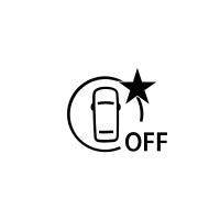 (Fahrzeugabhängig) Anzeige für Ausfall oder Nichtverfügbarkeit des Aktives Notbrems-Assistenzsystem