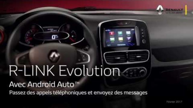R-Link Evolution & Android Auto - FRA