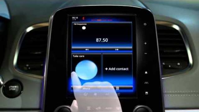 Beschreibung des Multifunktions-Touchscreens